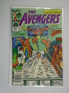 Avengers #240 Newsstand edition 7.0 FN VF (1984 1st Series)