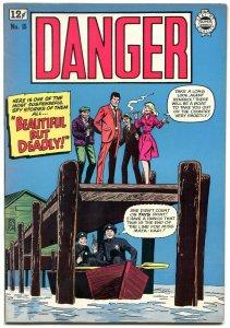 Danger #15 1964-Super Golden Age reprints- High Grade