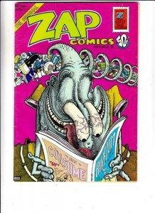 Zap #6 (Jan-73) FN High-Grade