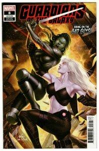 Guardians Of The Galaxy #8 Inhyuk Lee BOBG Variant (Marvel, 2019) NM