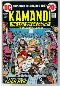 KAMANDI #6, VF+, Jack Kirby, Last Boy on Earth, 1972, more in store