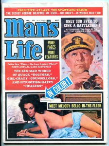 Man's Life Magazine May 1964 -SECRET HORROR WEAPONS OF WWII FN/VF