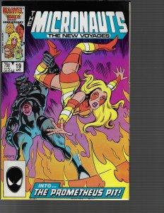Micronauts #19 (Marvel, 1986)