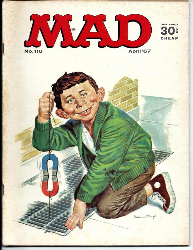 Mad No. 110, , April, 1967 (VG)