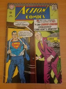 Action Comics #345 ~ FINE FN ~ (1967, DC Comics)