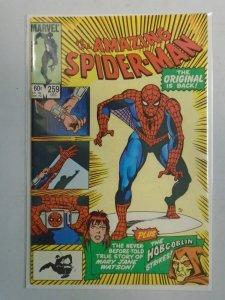 Amazing Spider-Man #259 Direct edition 8.0 VF (1984 1st Series)