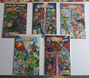 DC Versus Marvel Comics #1-4 W/Preview Complete Set High Grade NM+ 1st Print vs