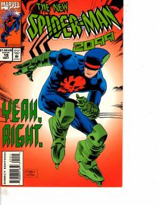 Lot Of 2 Marvel Comic Books New Spider-Man 2099 #19 and Hulk #3   MS17