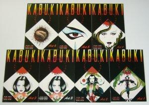 Kabuki: Circle of Blood #1-6 VF/NM complete series + variant - david mack set