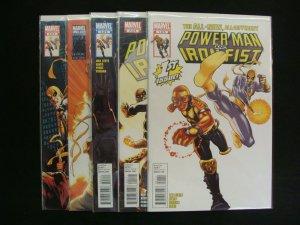 Power Man and Iron Fist #1-5 Complete Set Run Marvel