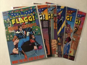 American Flagg 1-6 8-12 Special 1 Lot Nm- Near Mint- 9.2 First Comics