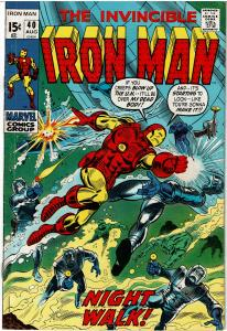 Iron Man #40, 5.0 or Better