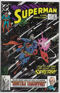 Superman   vol. 2   # 30 VG/FN (Exile in Space)