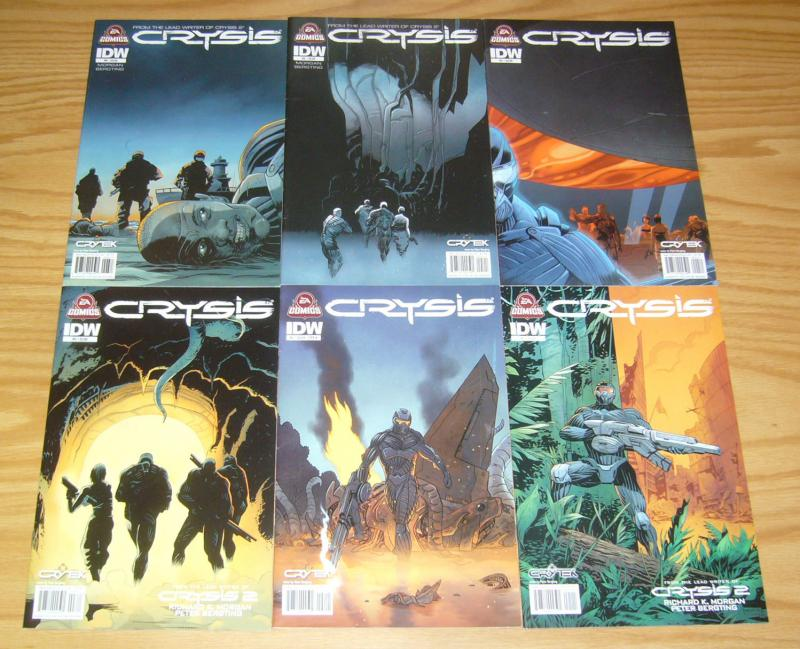 Crysis #1-6 VF/NM complete series based on the video game from EA GAMES 2 3 4 5