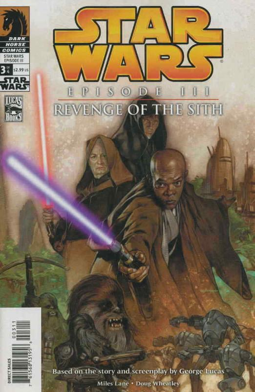 Star Wars: Episode III—Revenge of the Sith #3 FN; Dark Horse | save on shipping