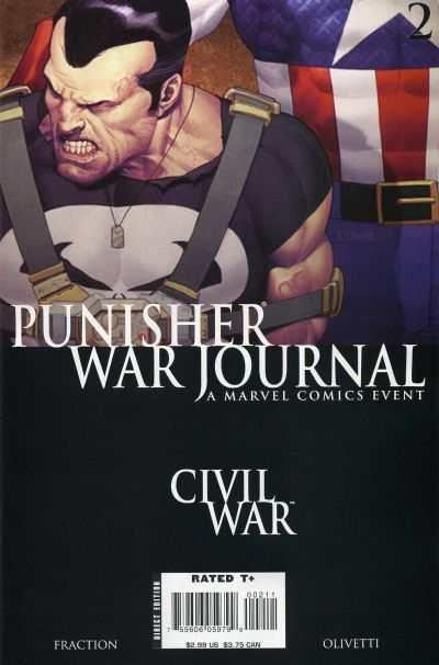 Punisher War Journal (2007 series) #2, VF+ (Stock photo)