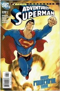 Adventures of Superman #648 NM+