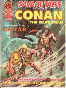 SAVAGE TALES (1971) 5 F-VF July 1974 Neal Adams cvr COMICS BOOK