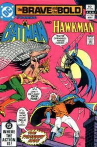 DC Comics The Brave and the Bold #186 Batman and Hawkman NM