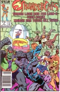 THUNDERCATS  5 VF-NM Aug. 1986