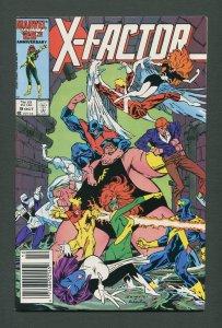 X-Factor #9  /  8.0 VFN  /  Newsstand / October 1986