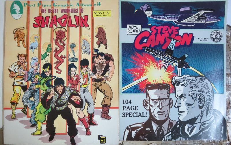 Exciting Adventures Indie Graphic Novel Lot of 4 Howard Chaykin Milton Caniff
