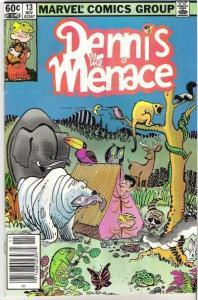 Dennis the Menace (1981 series) #13, VF+ (Stock photo)