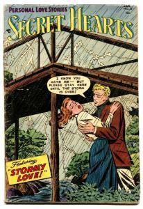 Secret Hearts #25 comic book 1955- Stormy Love- DC Comics