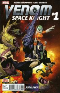 Venom: Space Knight #1 FN; Marvel | save on shipping - details inside