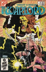 DC Comics! The Warlord! Issue 90!