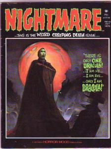 Nightmare Magazine #15 (Oct-73) VF/VF- High-Grade