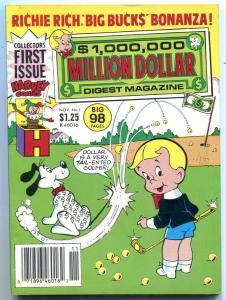 Million Dollar Digest Magazine #1 1986- Richie Rich
