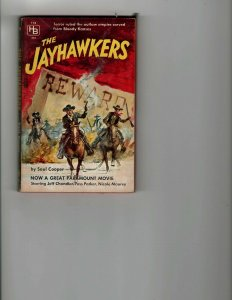 3 Books The Jayhawkers Dark Shadows The Avengers 20 The Green Killer JK8