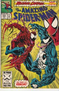 Amazing Spiderman(vol. 1) #  378  Maximum Carnage Part 3