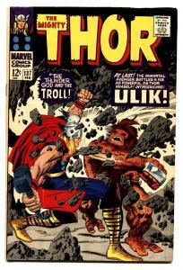 Thor #137 comic book 1966 comic book- Jack Kirby- First ULIK VF-