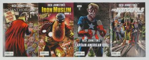 Rich Johnston's Avengers spoof set of (4) VF/NM iron muslim/avengefuls/thor+more