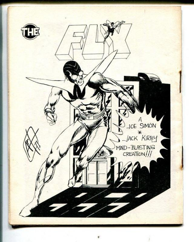 With Pen And Brush #2 1971-Spectrum-superhero comics-4 X 5-The Fly-FN-