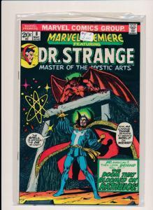 MARVEL DR. STRANGE and KATHULOS #8  FINE/VERY FINE (HX691)