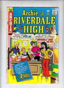 Archie At Riverdale High #16 (Jun-74) VG Affordable-Grade Archie