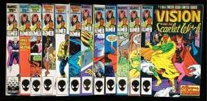 Vision & Scarlet Witch 1-12: Complete 1986 Mini-Series.  2020 TV Series-Disney+