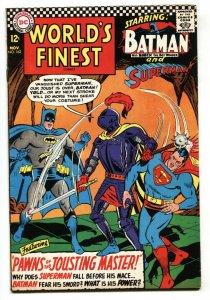 WORLD'S FINEST #162 comic book 1966-BATMAN-SUPERMAN VF