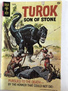Turok #72, VG, cover hand painted by Gioletti