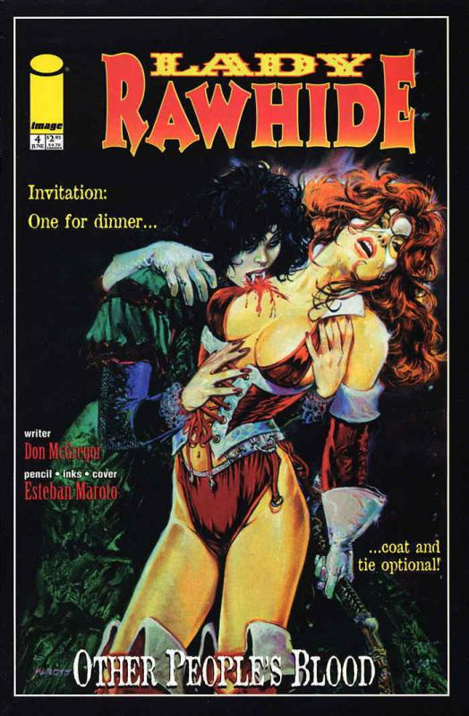 Lady Rawhide: Other People's Blood #4 FN; Image | save on shipping - details ins