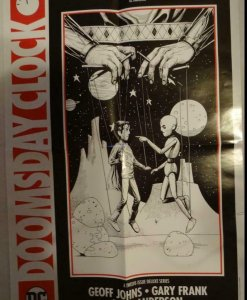 DOOMSDAY CLOCK Promo Poster, 15 x 22, 2018, MARVEL, OZYMANDIAS Unused more in ou