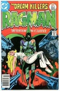 RAGMAN #4, VF+, Redondo, Joe Kubert, 1976, Drug use story, more Bronze in store