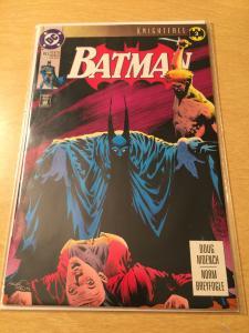 Batman #493 Knightfall
