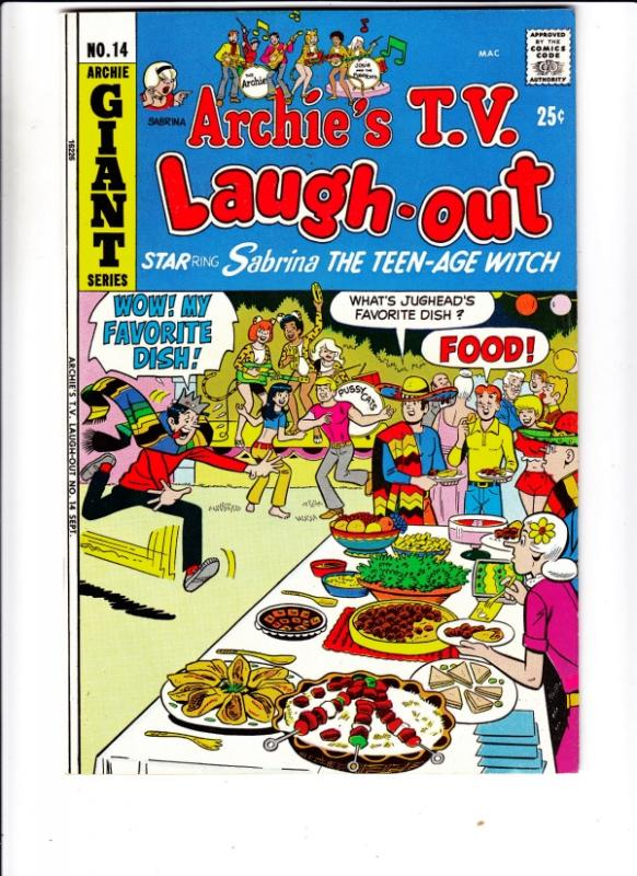 Archie's TV Laugh Out #14 (Sep-72) NM- High-Grade Archie