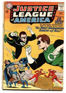 JUSTICE LEAGUE OF AMERICA #30-comic book-JUSTICE SOCIETY-DC COMICS vg