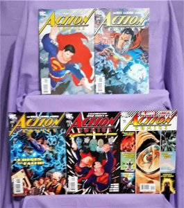 Dwayne McDuffie Superman ACTION COMICS #847 - 850 Annual #10 (DC, 2007)!