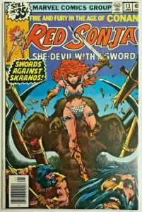 RED SONJA#13 VG/FN 1979 MARVEL BRONZE AGE COMICS